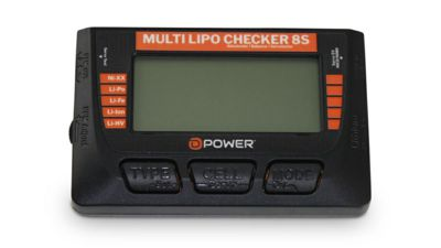 156-DPMLC8S Multi Lipo Checker 8S Akkutest