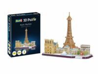 017-00141 Paris Skyline 3D Puzzle