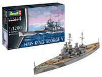 017-65161 1:1200 HMS King Geore V incl.