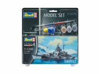 017-65822 1:1200 Model Set Tirpitz incl.