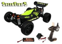 153-3019 SpeedFire 5 - RTR brushed Bugg